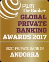 Millor banc d'Andorra en banca privada