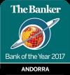 Banc de l'any a Andorra 2017