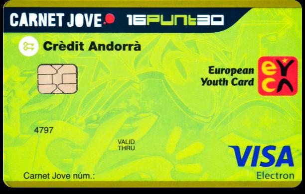 El Carnet Jove Clàssic i el Carnet Jove 16PUNT30 fomenten l'estalvi i ofereixen descomptes especials i avantatges en productes i serveis bancaris per als joves de fins a 30 anys.