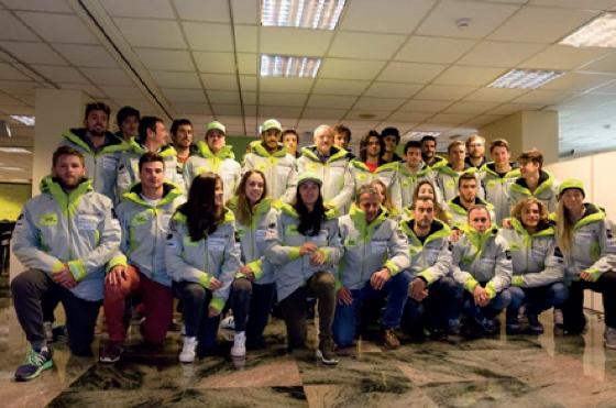 Presentació de l'equip de la Federació Andorrana d'Esquí. © ANA